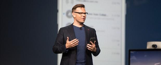 Cisco's Rowan Trollope unveils Project Squared.