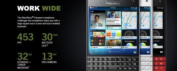 BlackBerry Passport, smart phones, mobile device