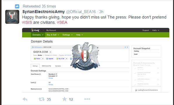 syraian electronic army, hacking groups, security