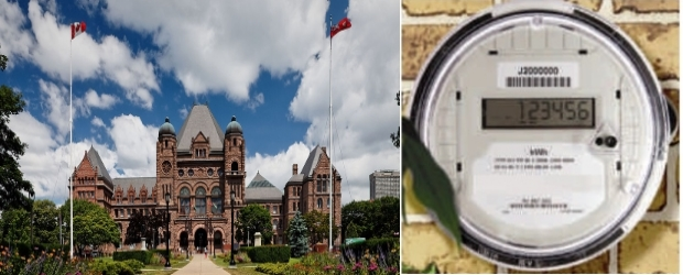 Ontario legislature, Hydro One, smart meters