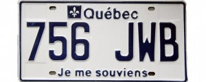Quebec license plate, computer system, upgrade