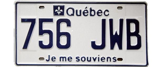 Quebec license plate, computer system, upgrade