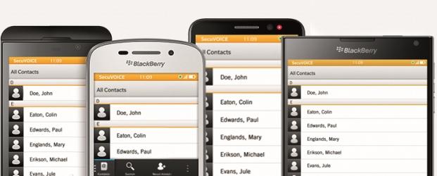 BlackBerry, Secusmart, mobile app, mobile security, BYOD