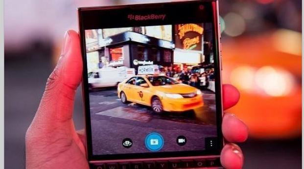 BlackBerry Passport smart phone