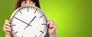 Time, clock , Woman, IT, technology