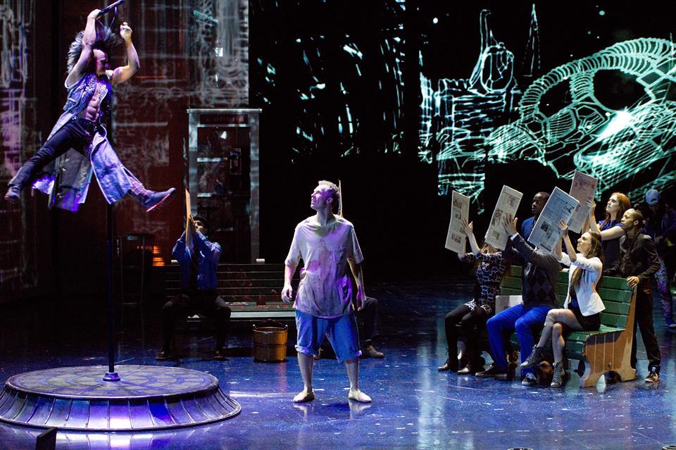 in story cirque du soleil