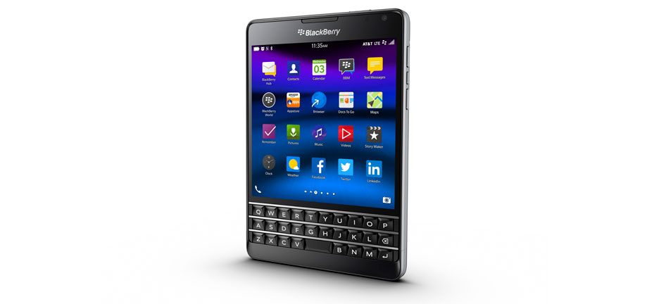 BlackBerry Passport, Phone Suit and Tie is Renewed with a Unique Design
