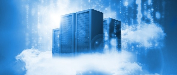 slide cloud servers shurtterstock