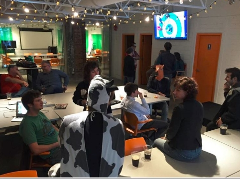 Beer Friday at Fort Tectoria, BC tech sector