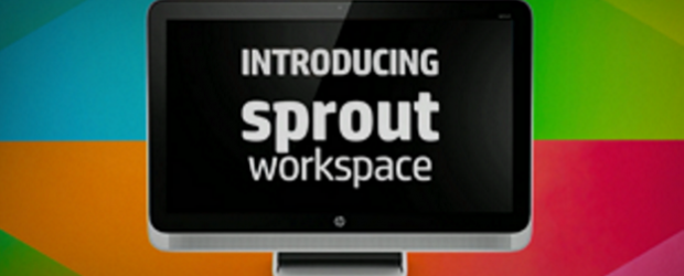 HP Sprout workspace