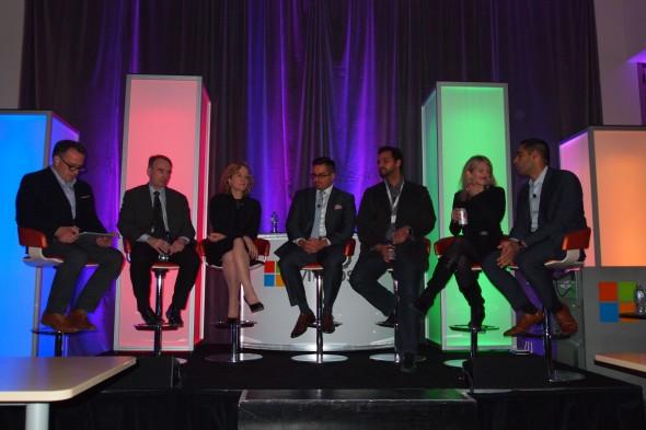 Microsoft Big Data Debate panel
