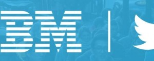 IBM and Twitter data analytics cloud service