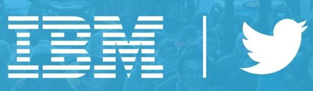 IBM and Twitter data analytics cloud service