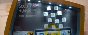SecuTABLET BlackBerry, samsung, IBM Secusmart