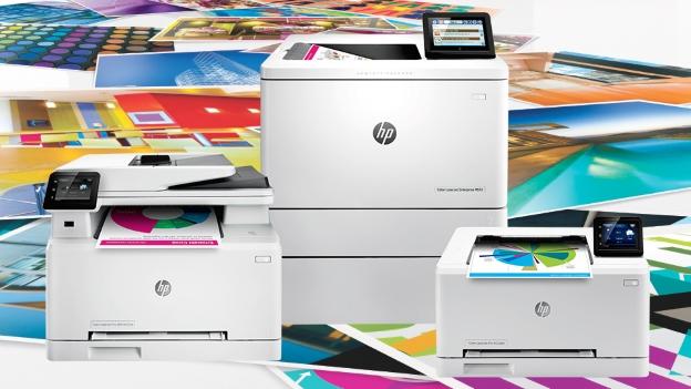 new HP laser jet printers
