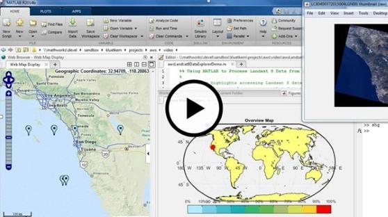 landsat_matlab_1 GIS applications