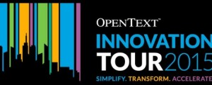 OpenText Innovation Tour 2015