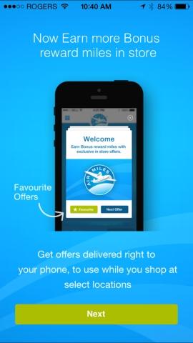 air miles mobile app