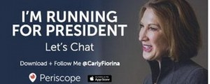 Carly Fiona for US president