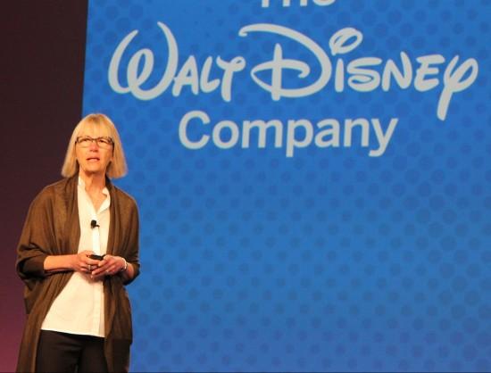 Jane Bemis, VP of enterprise HRIS at Disney, presents at SuccessConnect in Las Vegas.
