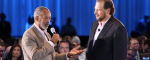 John Thompson & Marc Benioff