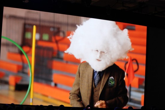 VMworld cloud man