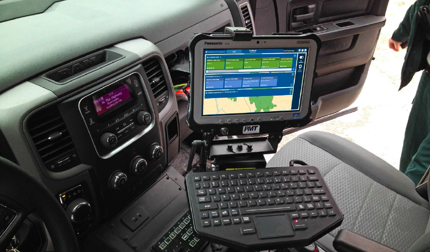 The Incident and Event Management (IEM) System is a map-based system that runs on mobile tablets that are carried by National Park Wardens or mounted in their vehicles.