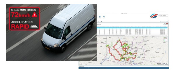 The IoT-enabled, Telus Fleet Tracker solution
