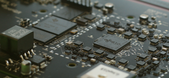 The R10 chip is embedded in the hardware offered by Cognitive Systems.