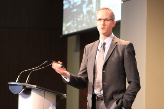 George Semplonius, vice-president of sales, Bell Mobility