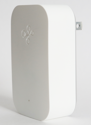 The Fyrefly device is a plug-and-play piece that extends the network and communicates with amera.