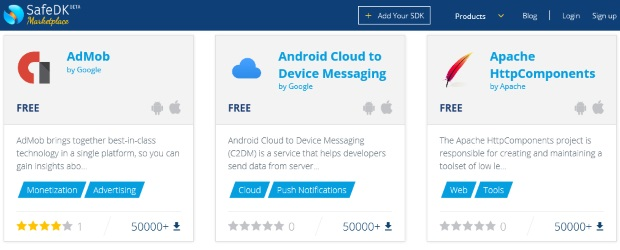 SDKs for popular mobile apps can put data at risk.