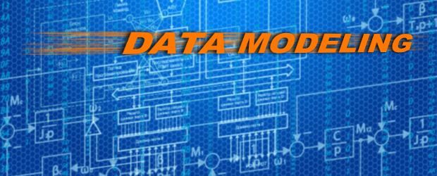 Data modeling diagram