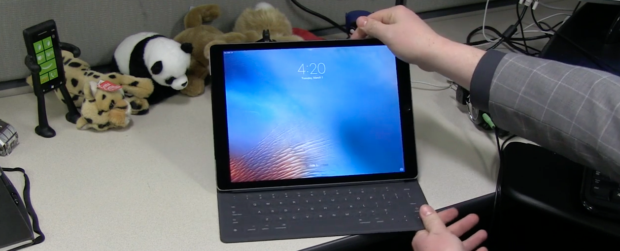 Apple iPad Pro - with keyboard
