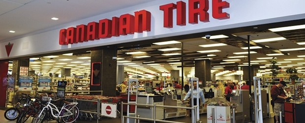 Canadian Tire storefront
