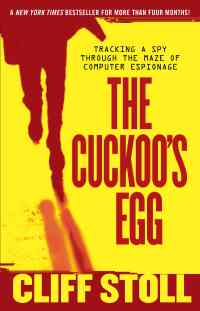 book cover, The Cuckoo's Egg