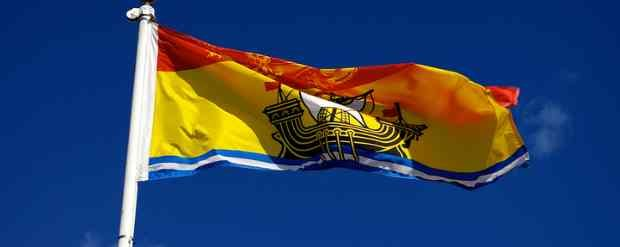 Photo of flag of New Brunswick