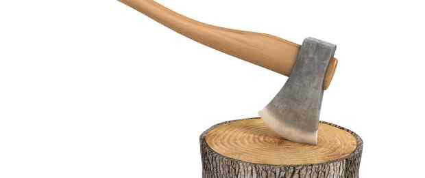photo of an axe