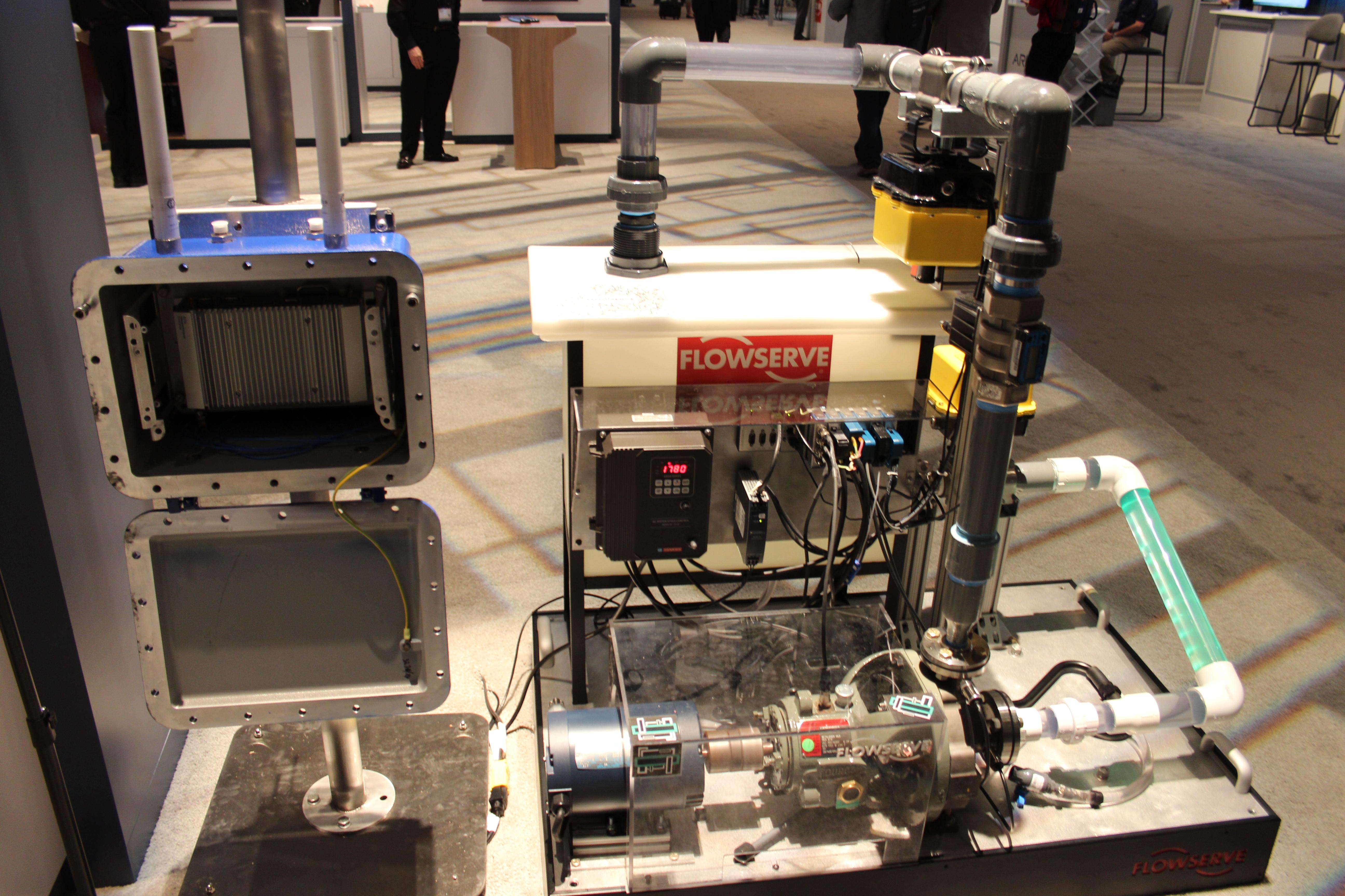 HPE FlowServe IoT pump
