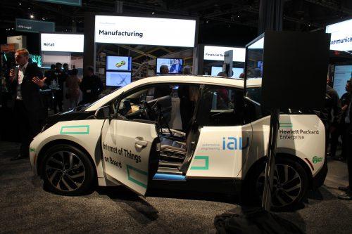 BMW HPE concept car