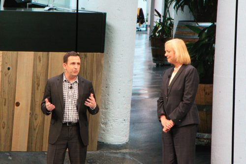Docker CEO Ben Golub - Meg Whitman HPE CEO