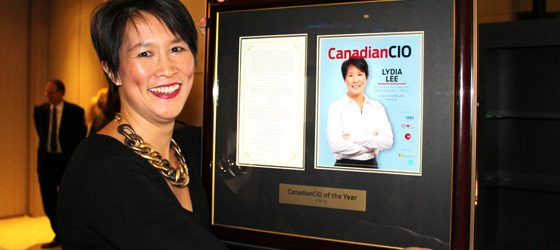 2015 CanadianCIO of the Year award winner Lydia Lee, senior vice president and CIO of University Health Network