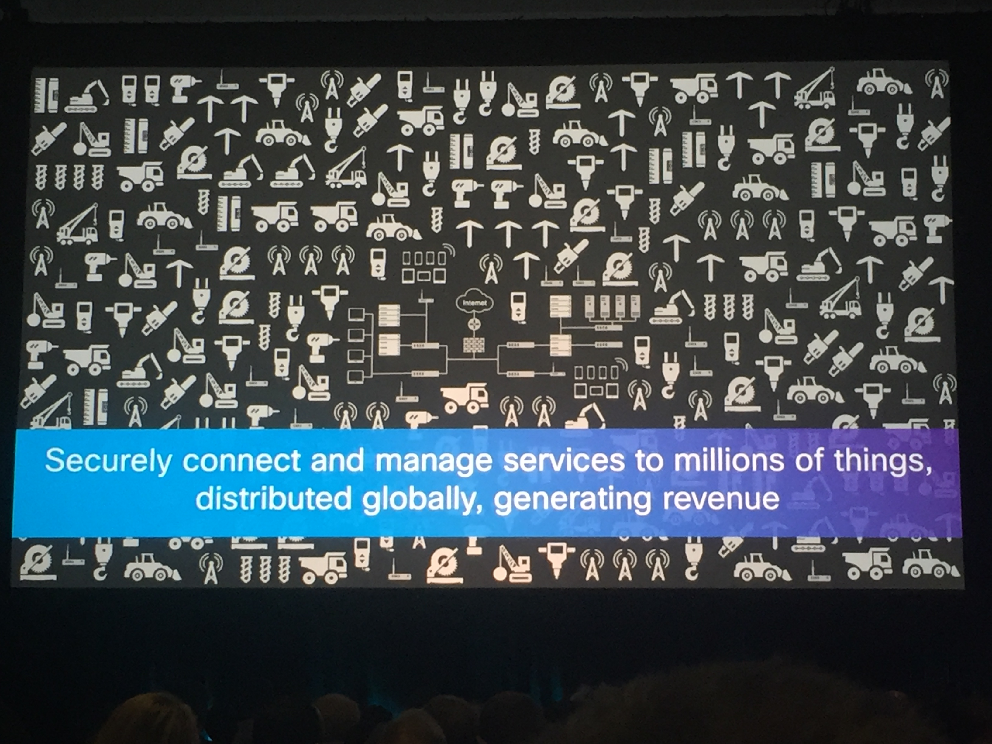Cisco's take on the Internet of Things