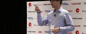 Alan Wunsche speaking at CIO Canadas CIO Summit 2016