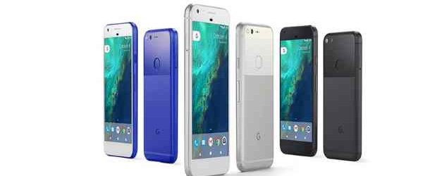 Google's new Pixel smart phones