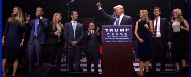 Donald Trump at podium - Nov. 8