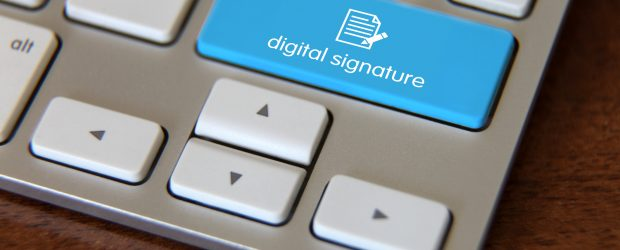 Digital signature document