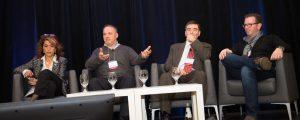 From left: Josie Scioli, Ted Maulucci, Peter Bak, Antoine Azar.