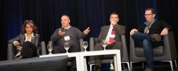 From left: Josie Scioli, Ted Maulucci, Peter Bak, Antoine Azar.