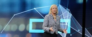 Meg Whitman HPE Discover London - graphic